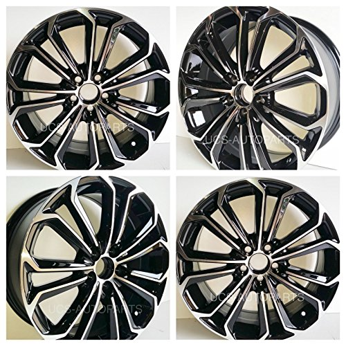 New 17 inch Replacement Wheel Alloy Rim compatible with Toyota Corolla Sport 2003 to 2017| 17inch x 7inch | 5x100 | 39 mm | 54.1 | 75152