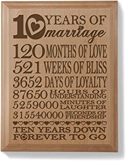 Best 10th anniversary gift Reviews