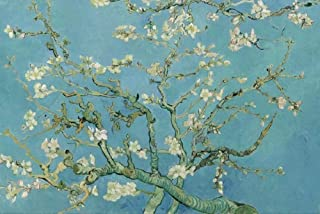 1000 Piece Jigsaw Puzzles, World Famous Painting Apricot Blossom by Vincent van Gogh Intellectual Game Landscape DIY Colle...