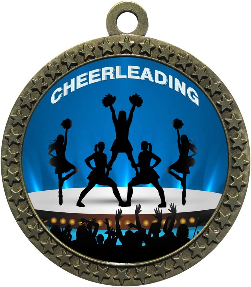 Express Purchase Medals specialty shop 1 to 50 Packs Trophy Medal Cheerleading Awar Gold