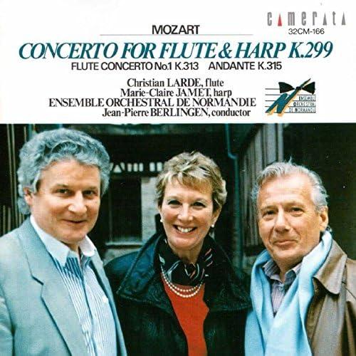 Christian Larde, Marie-Claire Jamet & Jean-Pierre Berlingen