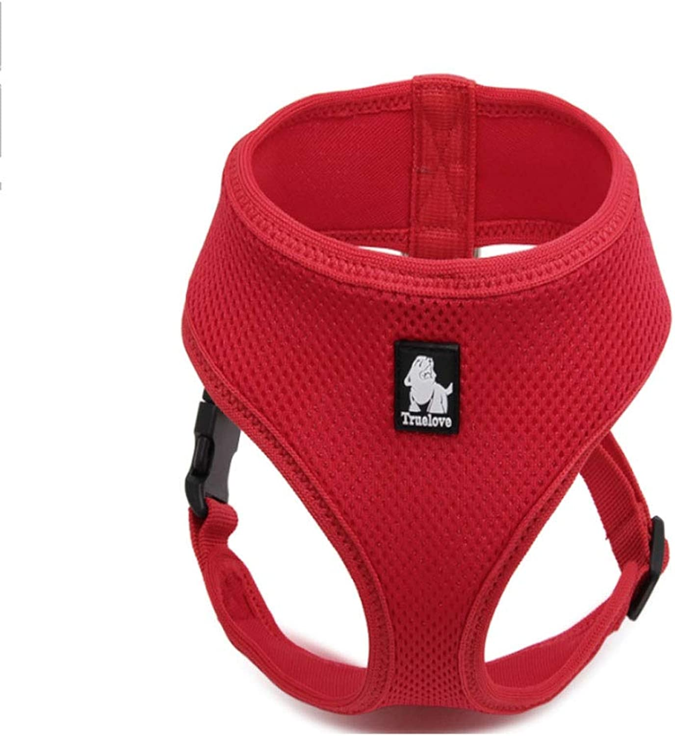 Pet Vest Harness Home Small Medium Dog Chest Strap Outdoor Teddy Traction Rope Supplies (8 colors Optional) (color   Red, Size   XL)