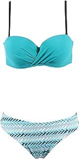 Blue Skieses 2019 Women Sexy Swimwear Female Summer Swimming Bikini Set Girls Beach Bathing Suits Biquini