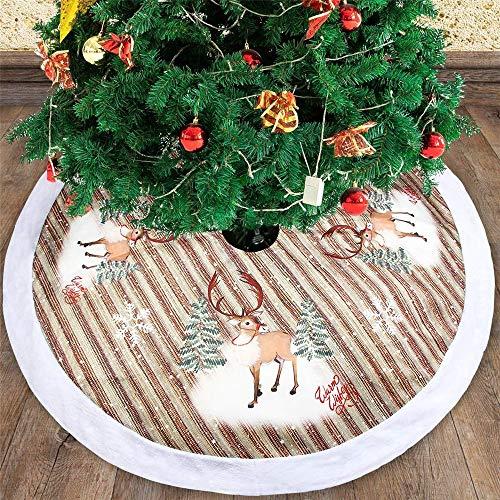 comboo Dekorativer Baumrock Am Unteren Rand des Weihnachtsbaums 38