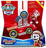 Spin Master New! Paw Patrol Ready Race Rescue - Race & Go Deluxe Marshall Vehicle & Figure