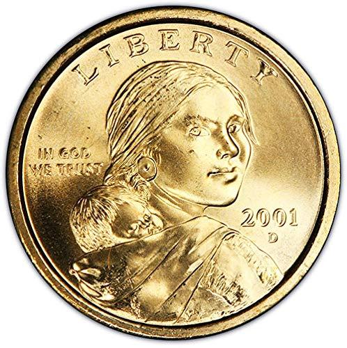 2001 D BU Sacagawea Dollar Choice Uncirculated US Mint