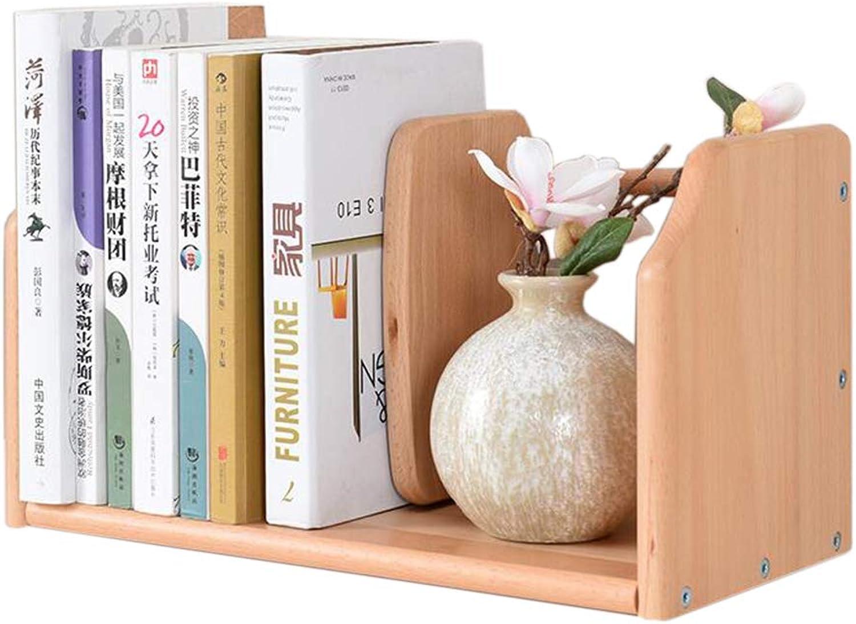 JCAFA Shelves Desktop Finishing Bookshelf Storage Rack Finishing Rack Multifunctional Small Shelves, Adjustable Baffle (color   A1)