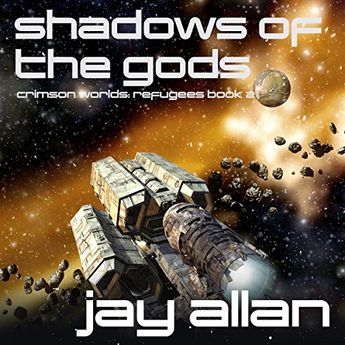 Shadows of the Gods audiobook cover art