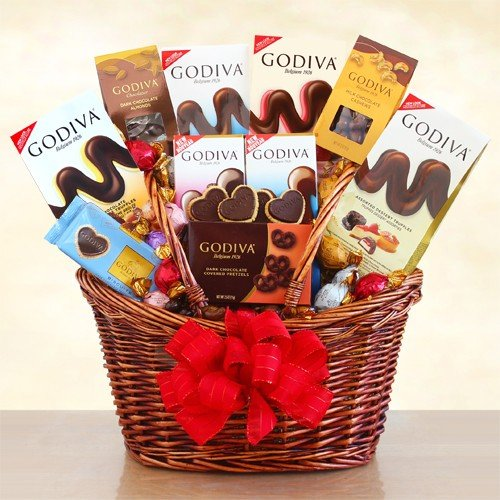 The Signature Collection Godiva Chocolate Gift Basket