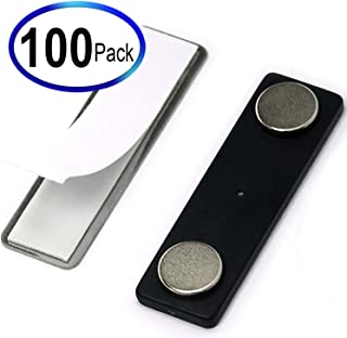 CMS Magnetics Name Badge Magnets BM-2Mag-4 Made of Neodymium Magnets Set of 100
