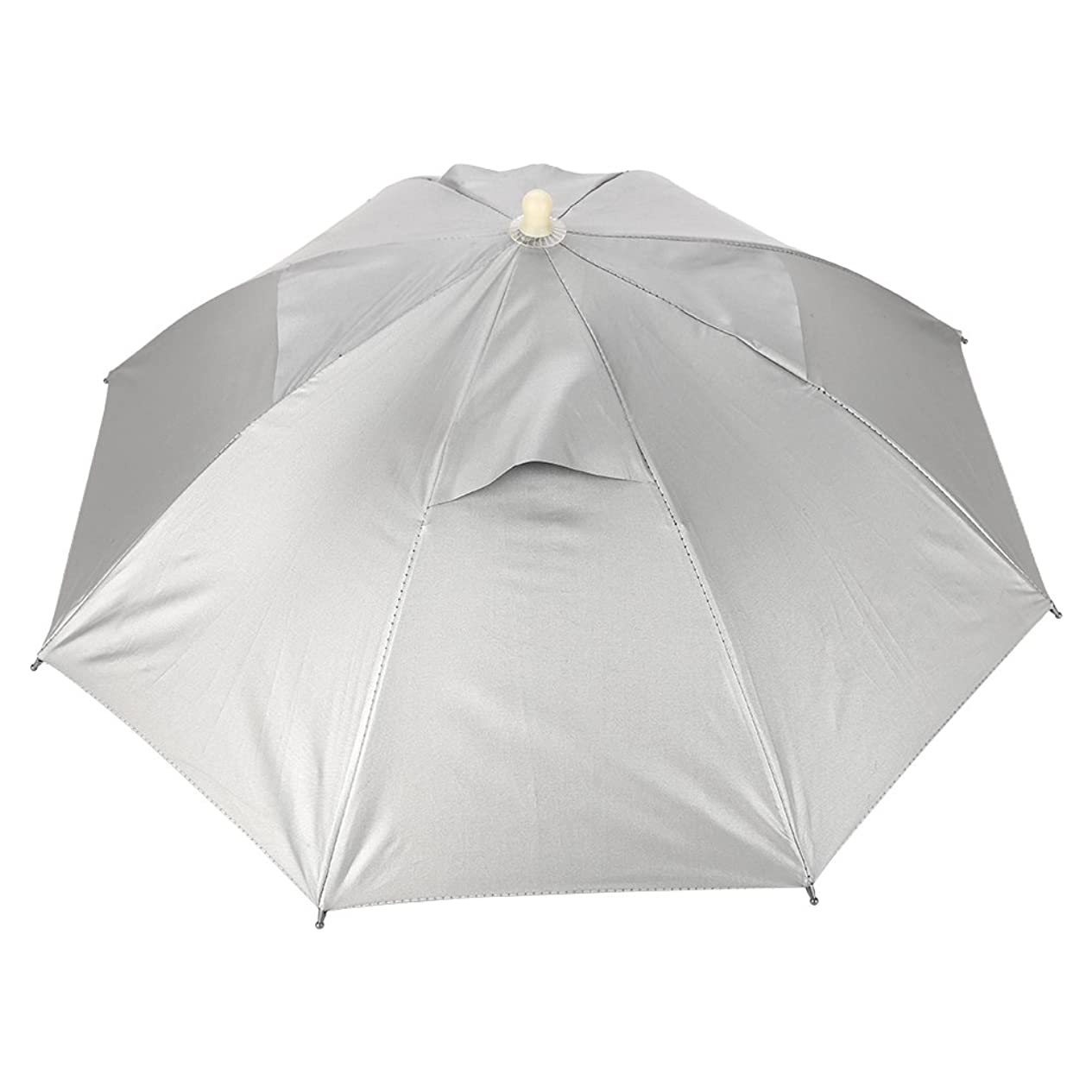 ギャング信じる酸っぱい釣り傘 傘帽子 釣り用傘 かぶる傘 両手解放可 折り畳み式 キャップ 防風 防水 UVカット フィッシング 釣傘 アウトドア
