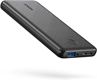Anker Portable Charger, PowerCore Slim 10000 Power Bank, 10000mAh Battery Pack, High-Speed PowerIQ Charging Technology for...