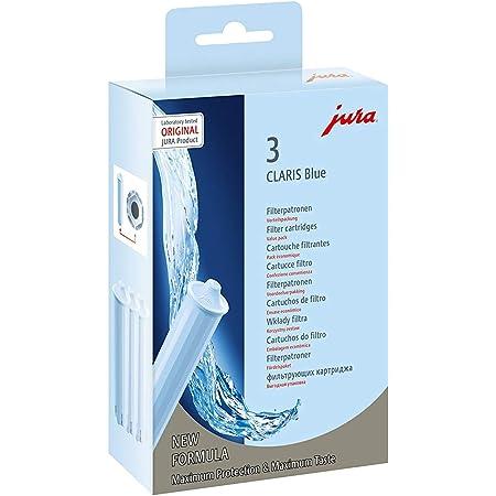 Jura Boîte de 3 cartouches filtrantes Bleu