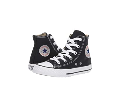 Converse Kids Chuck Taylor(r) All Star(r) Core Hi (Little Kid) (Black) Kids Shoes
