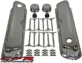 1962-85 Compatible/Replacement for Ford Small Block 260-289-302-351W Chrome Steel Engine Dress Up Kit - Smooth