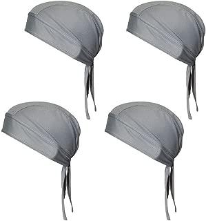 QING Sweat Wicking Beanie Cap Hat Chemo Cap Skull Cap for Men and Women