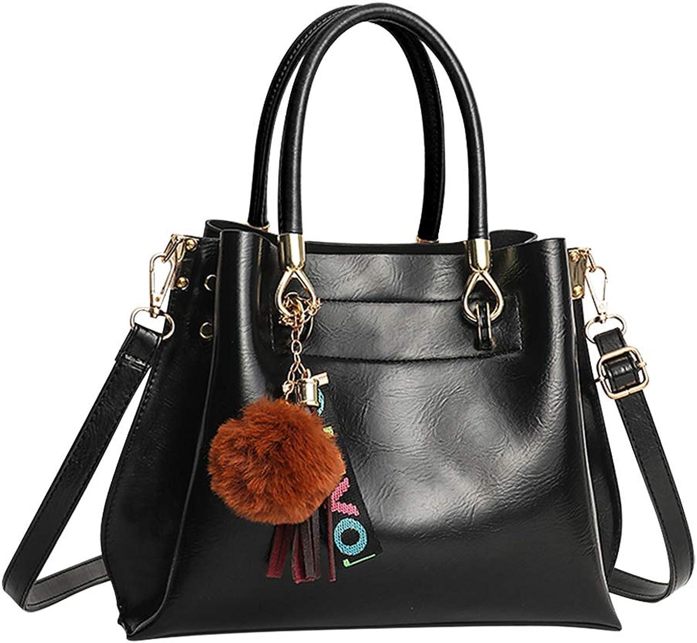 Uirend Shoulder Bags Women Handbags Totes - Ladies Crossbody Purse Satchel PU Leather Fashion Casual Travel Work Lightweight
