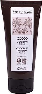 Phytorelax Laboratories Cocco Vegan & Organic - Crema Mani – Nutriente, Vellutante, Si Assorbe Subito - 75Ml