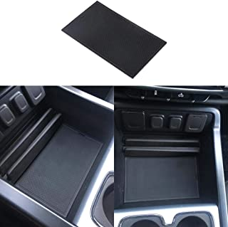 EDBETOS Center Console Secret Compartment Cover for 2014-2018 GMC Sierra 1500 2500HD 3500HD Denali and 2015-2018 Chevy Sil...