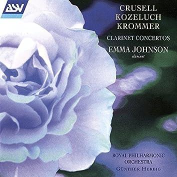 Crusell, Kozeluch, Krommer: Clarinet Concertos