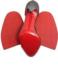 Red Sole repair rubber half soles - non skid - GTO RED brand