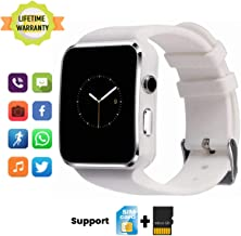 TagoBee Smart Watch TB01 Bluetooth SmartWatch Touch Screen Fitness Tracker with SIM SD Memory Card Slot Camera Pedometer Wrist Watch Compatible for Android Phones Samsung iOS iPhone Kids Women Men
