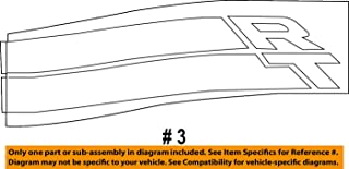 MOPAR 1LW67RXFAA - Decal Rear Quarter