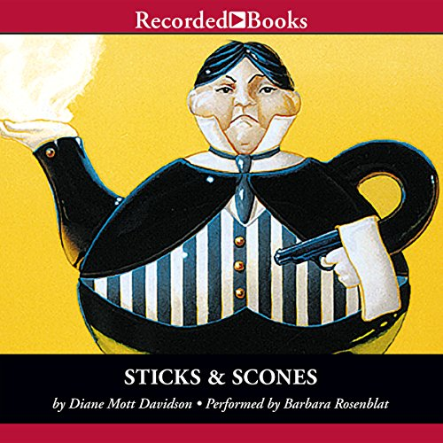 Sticks and Scones audiobook cover art