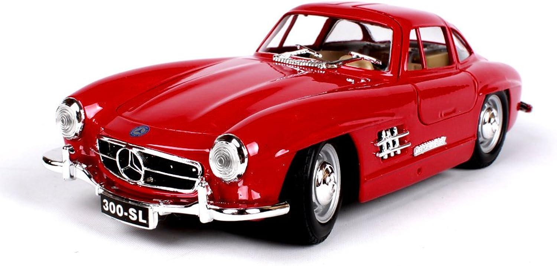 oferta especial Penao Modelo del Coche de la Aleación Aleación Aleación de la Simulación de Mercedes-Benz SL, Modelo de Coche Clásico, Coche Retro Modelo, Relación 1 24  la mejor selección de