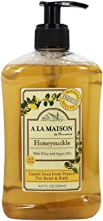 A La Maison Soap Liq Frnch Hnysckle, 16.9 oz.