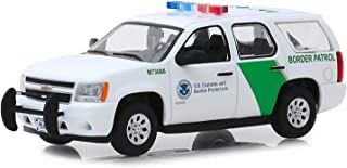 Greenlight 86163 1-43 Scale Diecast 2010 Chevy Tahoe U.S. Customs and Border Protection Patrol