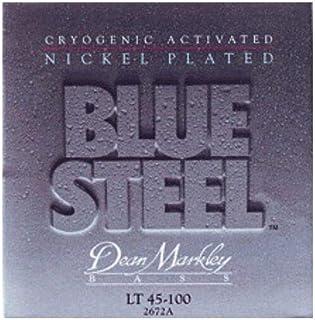 Dean Markley Blue Steel 2672A NPS Bass Guitar Strings, Extra Light, 4-String, 45-100