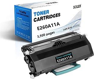 SOLER Remanufactured Toner Cartridge Replacement for E260A11A for Lexmark E260 E260d E260dn E260dt E260dtn E360d E360dn E3...