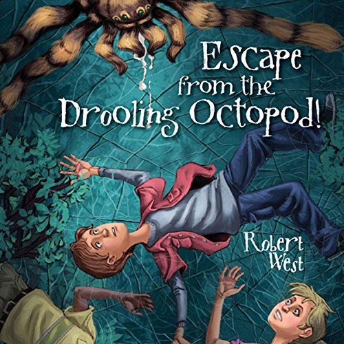Escape from the Drooling Octopod! audiobook cover art