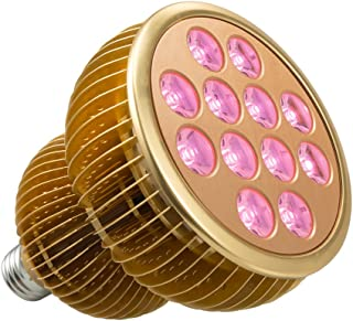 LED Grow Light Bulb, TaoTronics Full Spectrum Grow Lights for Indoor Plants, Grow Lamp, Plant Lights for Hydroponics, Organic Soil (All Wavelengths, FREE E26 Socket)