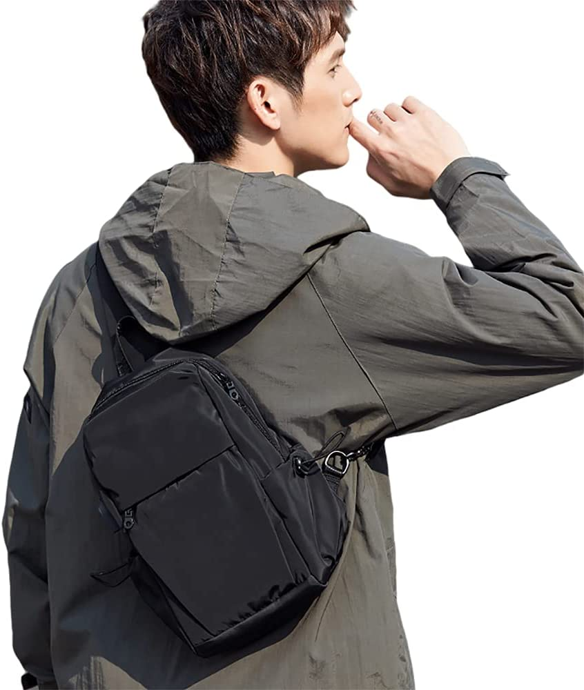 Small Sling Bag Backpack for Men Shoulder Now free shipping Chest Max 62% OFF Crossbody Women