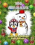 100 Animaux - Livre De Coloriage Pour Enfants: ANIMAUX DE MER, ANIMAUX DE FERME, ANIMAUX DE JUNGLE, ANIMAUX DES BOIS ET ANIMAUX DE CIRQUE