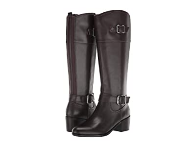 Bandolino Pries (Dark Brown Leather) Women