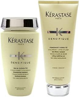 Kerastase Densifique Bain Densite 8.5 oz. and Fondant Densite 6.8 oz. Combo Pack