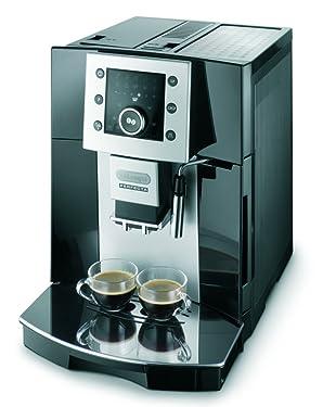 De'Longhi ESAM 5400 Kaffeevollautomat (Digitaldisplay, Milchaufschäumdüse, Kegelmahlwerk 13 Stufen, Herausnehmbare Brühgruppe, 2-Tassen-Funktion) schwarz