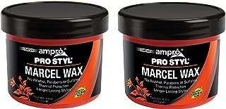 [ PACK OF 2 ] Ampro Pro Styl Marcel Curl Wax 4 Oz