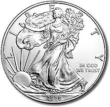 1989 American Eagle One Ounce Silver Bullion Dollar Uncirculated