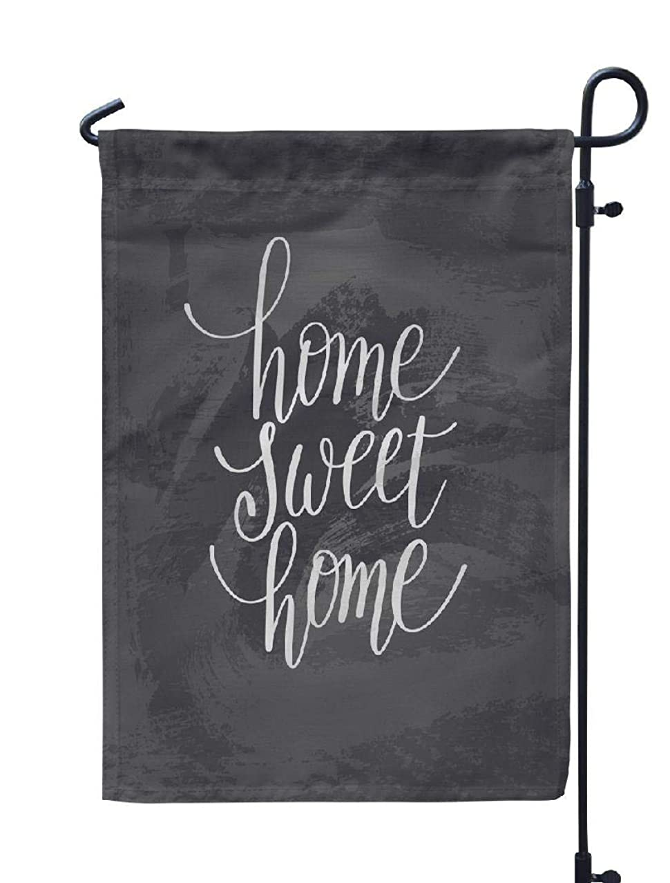 Soopat Home Sweet Home Seasonal Flag, Home Sweet Home Sweet Home Greeting Card Weatherproof Double Stitched Outdoor Decorative Flags for Garden Yard 12''L x 18''W Welcome Garden Flag