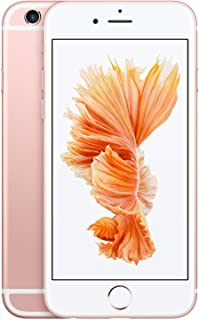 苹果 iPhone 6S 64 GB 英国 版 免 SIM-智能手机 - 银色479DT77 128GB Rose Gold