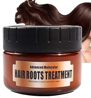 FushiYH Advanced Molecular Hair Root Treatment Collagen Intensive Treatment 60 ml, with argan Oil, jojoba Oil, shea Butter, and Aloe Vera, 100% Silicone Free & Animal Free