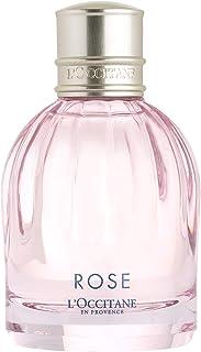 L'Occitane Velvety & Elegant Rose Eau de Toilette, 1.6 Fl Oz