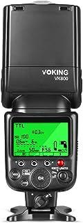 Voking VK800 Pantalla LCD I-TTL Flash Speedlite TTL para Nikon D3300/D3400/D5/D500/D5600/D610/D7100/D7200/D7500/D810 etc y Otras cámaras DSLR con Zapata