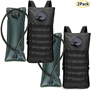 AIMILL Tactical Water Hydration Pack,Camel Backpack Hydration Pack Hydration Carrier Backpack,Leakproof,Tactical Water Bladder Backpack,Military Class,Leakproof for Running Jogging Cycling Hiking