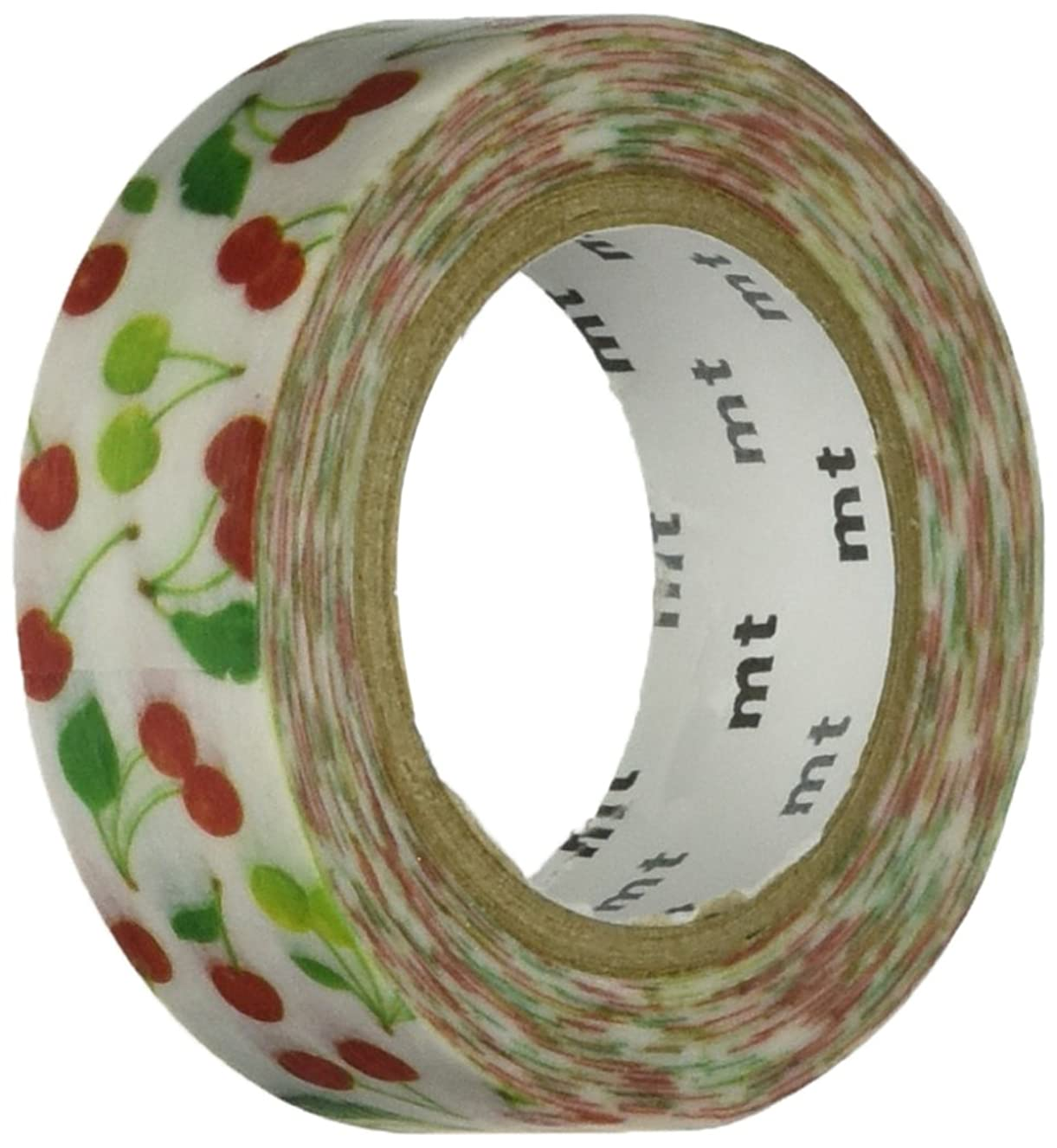 MT Washi Masking Tape, 15mm x 10m, Cherry (MTEX1P113)