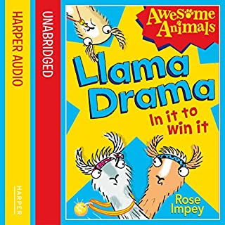 Llama Drama: In It to Win It! (Awesome Animals) cover art